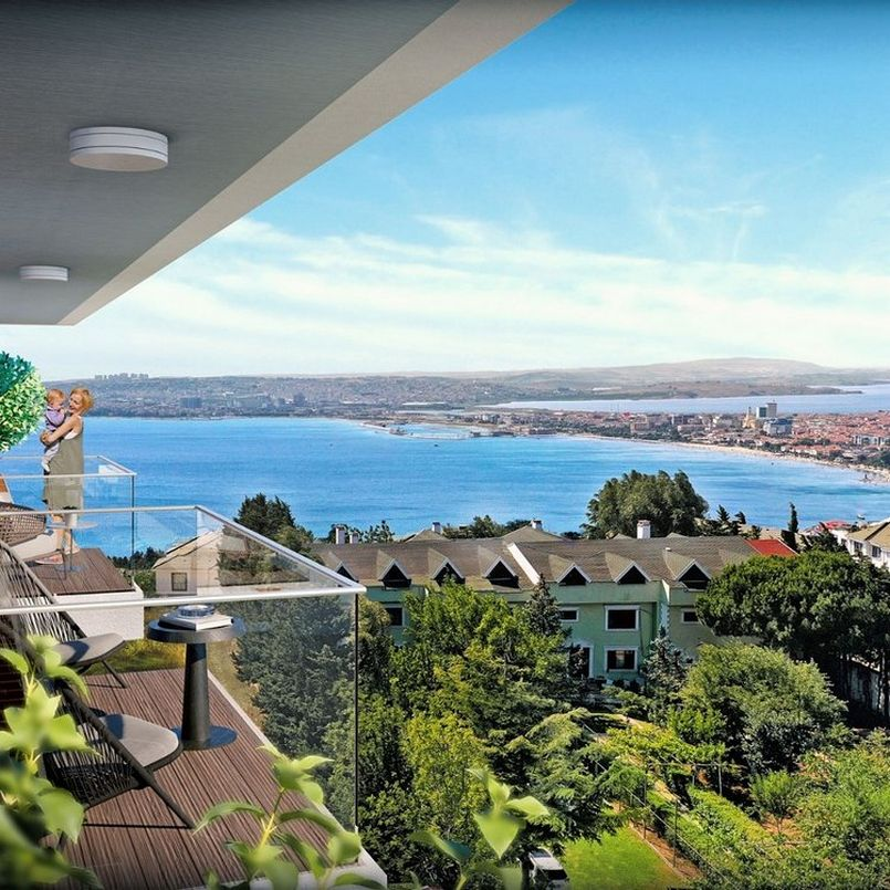 Apartments with sea views for sale