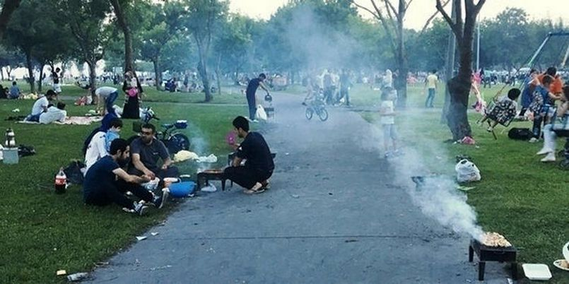 Istanbulites' BBQ fun goes up in smoke after ban