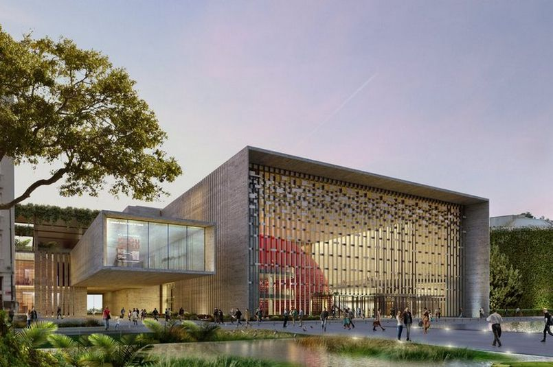 New Atatürk Cultural Center's construction nears completion